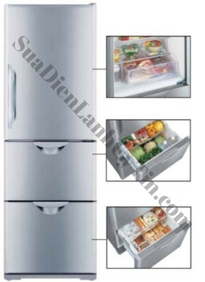 tủ lạnh hitachi R-S31SVG